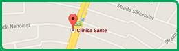 Harta Clinica Sante Chisinau Testemitanu